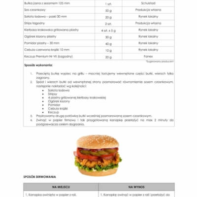 recipe for a sandwich with crispy chicken