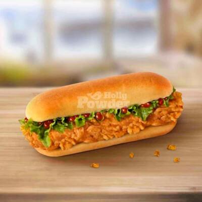 batter mix fried chicken sandwich