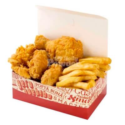 Box chicken tenders C4