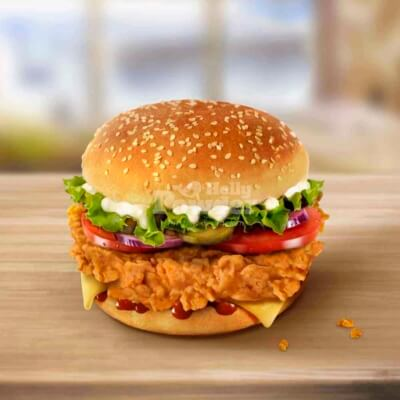 crispy chicken burger Big Boss