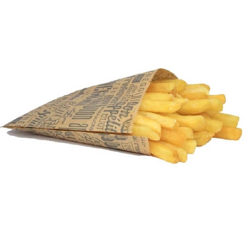holder/bag for french fries