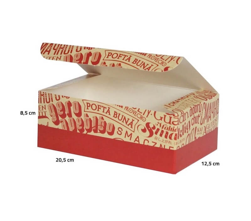 large box container for chicken