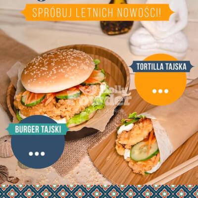 restaurant poster/flyer